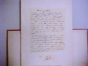 Facsimile Autograph Letter Signed while in command: Napoleon