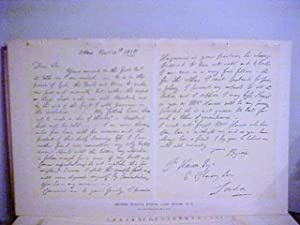 Facsimile Autograph Letter Signed to John Hanson,: Byron, Lord