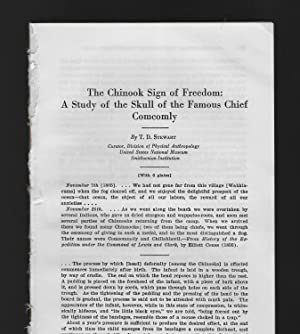The Chinook Sign Of Freedom: A Study Of The Skull Of The Famous Chief Comcomly