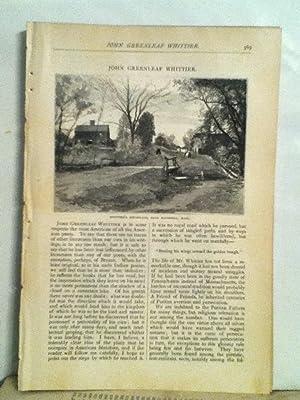 John Greenleaf Whittier: Stoddard, Richard Henry
