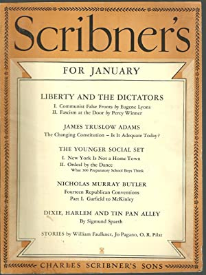 The Brooch: A Story in Scribner's Magazine: Faulkner, William /