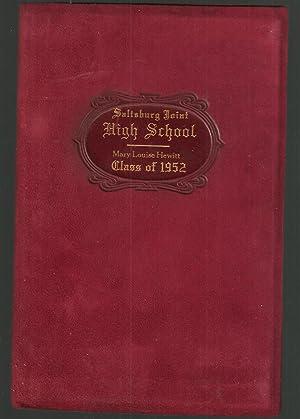 High School Diploma, Saltsburg Joint High School, Saltsburg, Pennsylvania, 1952: Hewitt, Mary ...