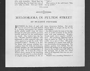 Melodrama In Fulton Street: Footner, Hulbert