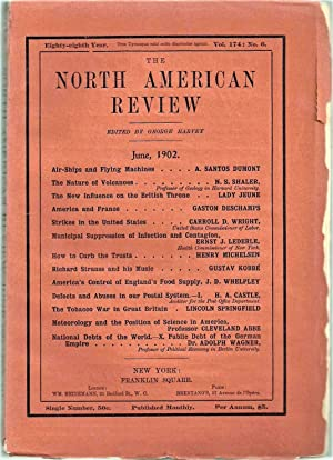 Air-Ships And Flying-Machines in The North American Review, first article on the subject published ...