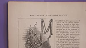 Fish And Men In The Maine Islands, Complete in Two Parts: Bishop, W. H.