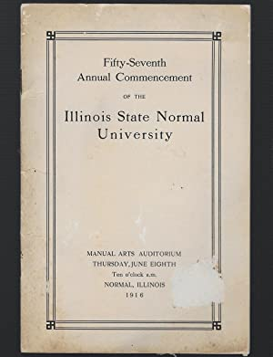 Fifty Seventh Annual Commencement Of The Illinois: McKenny, Charles