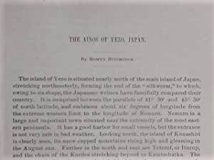 The Ainos Of Yezo, Japan: Hitchcock, Romyn