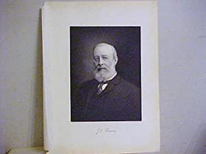 James Gordon Carter Brooks Steel Engraved Portrait: Brooks, James Gordon Carter