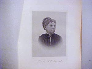 Sarah S. C. Marsh Steel Engraved Portrait: Marsh, Sarah S. C.