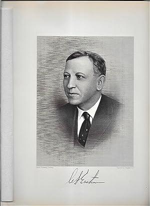 Calvert Streetly Eastman Steel Engraved Portrait: Eastman, Calvert Streetly