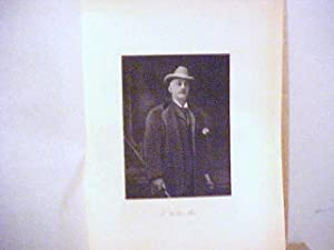 F. Willis Rice Steel Engraved Portrait: Rice, F. Willis
