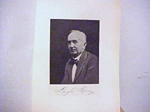 Douglas Moseley Steel Engraved Portrait: Moseley, Douglas