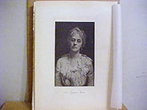 Mrs. Lyman Ware Steel Engraved Portrait: Ware, Mrs. Lyman