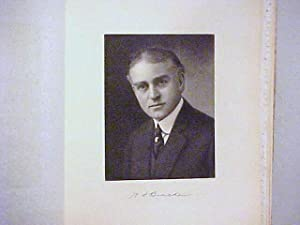 Willard S. Bracken Steel Engraved Portrait: Bracken, Willard S.