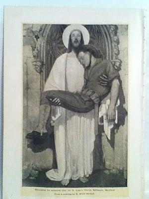 Decoration for Memorial Altar for St. Luke's: Mackall, R. McGill