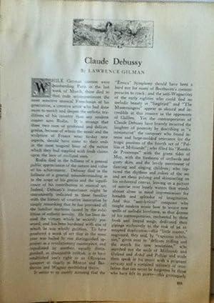 Claude Debussy: Gilman, Lawrence