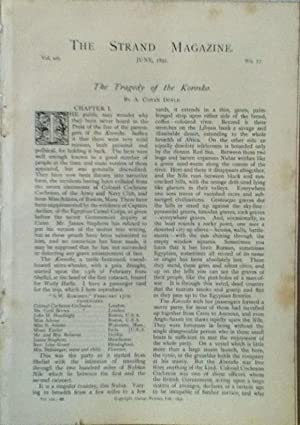 The Tragedy Of The Korosko, Pre-Publication Serial Appearance from The Strand Magazine, Complete in...
