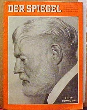 Hemingway: Wem Die Stunde Schlagt (Siehe Titelbild) in Der Spiegel Magazine: Hemingway, Ernest