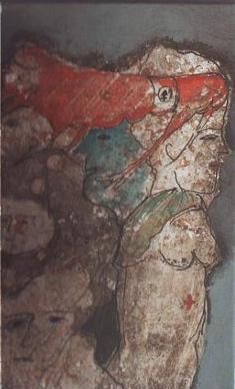 Zwy Milshtein, Treize peintures, techniques mixtes sur: Hubert Bouelle, Alin