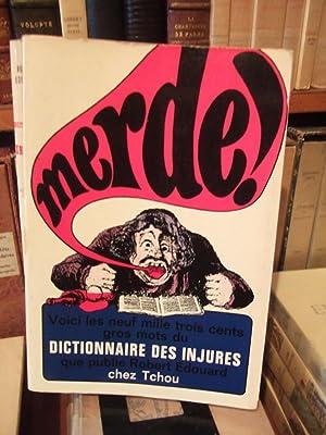 Dictionnaire des injures précédé d'un petit traité: EDOUARD Robert.