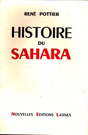 Histoire du Sahara.: POTTIER (René)
