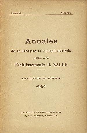 Notes sur l'histoire des drogues - L'exposition: WEITZ R., Coronedi