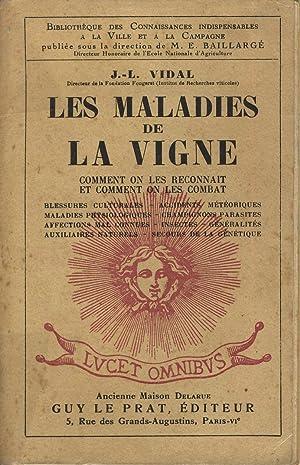 Les maladies de la vigne, comment on: VIDAL J.-L.