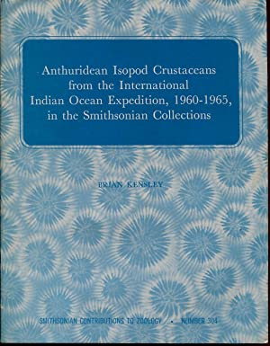 Anthuridean isopod crustaceans from the international Indian: KENSLEY Brian