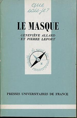 Le masque: ALLARD Geneviève, LEFORT