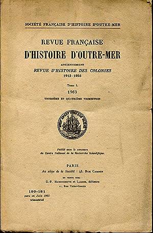 Revue Française d'Histoire d'Outre-Mer anciennement Revue d'Histoire: DESCHAMPS Hubert, WONDJI