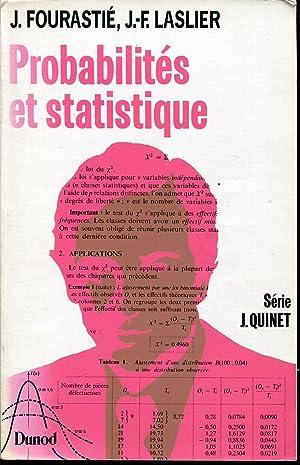Probabilités et statistique: FOURASTIE J., LASLIER