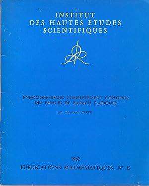 Endomorphismes complètement continus des espaces de Banach: SERRE Jean-Pierre