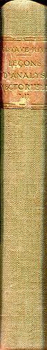 Leçons d'analyse vectorielle, tome 1 : Géométrie: JUVET Gustave