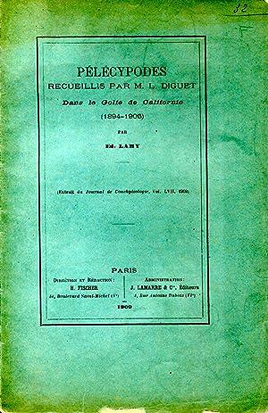 Pélécypodes recueillis par M. L. Diguet dans: LAMY Bernard