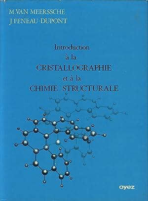 Introduction à la cristallographie et à la: VAN MEERSSCHE M.,