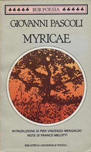 Myricae.: Pascoli, Giovanni