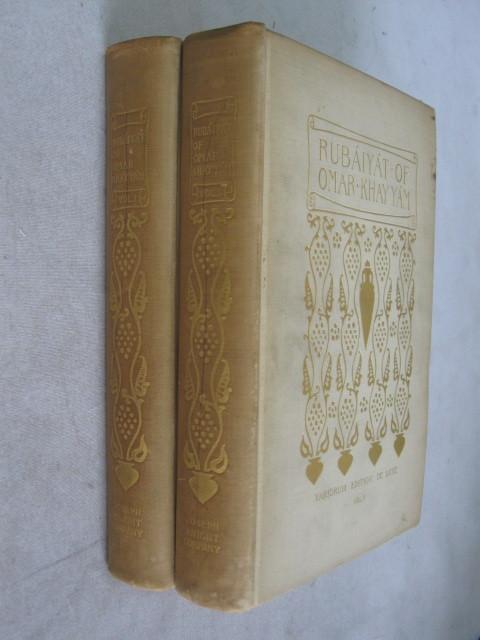 The Rubaiyat of Omar Khayyam (2 volumes): Fitzgerald, Edward / Dole, Nathan Haskell (ed.)