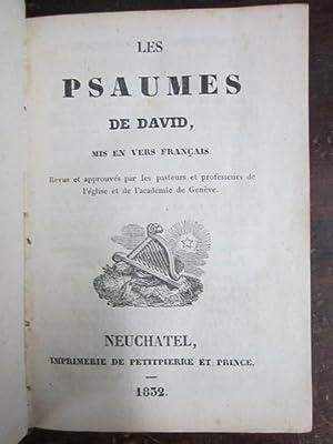 Les Psaumes de David, Mis en Vers Francais