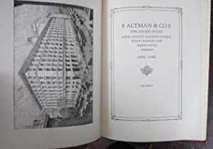 B. Altman & Co's Enlarged Store: Fifth Avenue, Madison Avenue, 34th and 35th Streets, New ...