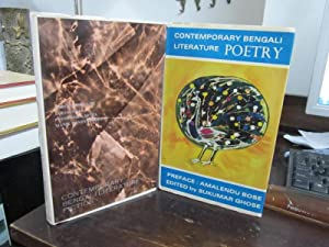 Contemporary Bengali Literature: Poetry [sold w/] Contemporary: Ghose, Sukumar (ed.)
