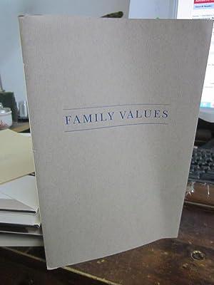 Family Values: Howard, Richard