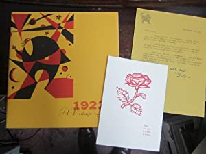 1922 - A Vintage Year: A Selection of Works from the Henry W. and Albert A. Berg Collection of ...