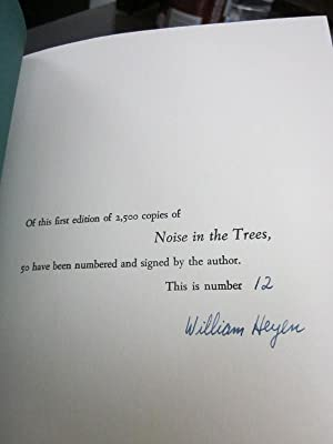 Noise in the Trees: Poems and a Memoir: Heyen, William