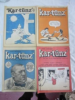 Harvey Kurtzman's Kar-tunz: An Off-Campus, Unofficial Publication, Issues #5-8: Kurtzman, ...