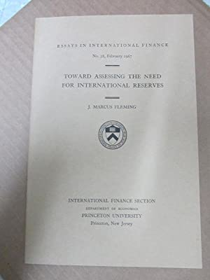 Toward Assessing the Need for International Reserves: Fleming, J. Marcus