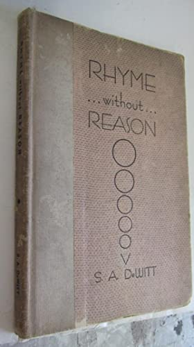 Rhyme Without Reason: DeWitt, S.A.