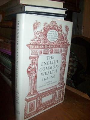 The English Commonwealth, 1547-1640: Clark, Peter et al. (eds.)
