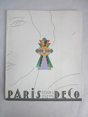 Design & Style #3: Paris Deco: Heller, Steven (ed.); Chwast, Seymour (des.)