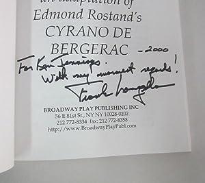 Frank Langella's Cyrano [Signed]: Rostand, Edmund] Langella, Frank