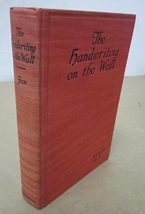 The Handwriting on the Wall: An Exploit of the Shadowers, Inc.: Fox, David